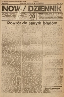 Nowy Dziennik. 1925, nr276