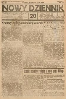 Nowy Dziennik. 1928, nr187