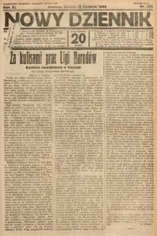Nowy Dziennik. 1928, nr223