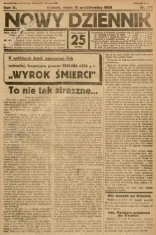 Nowy Dziennik. 1928, nr271