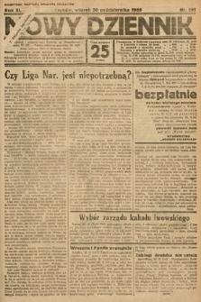 Nowy Dziennik. 1928, nr291