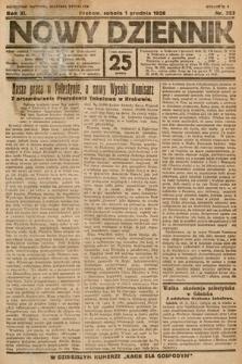 Nowy Dziennik. 1928, nr323