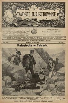 Nowości Illustrowane. 1911, nr28