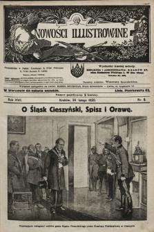 Nowości Illustrowane. 1920, nr9