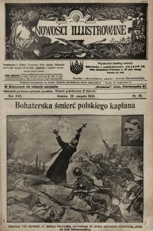 Nowości Illustrowane. 1920, nr35