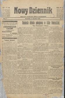 Nowy Dziennik. 1919, nr1