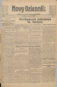Nowy Dziennik. 1919, nr3