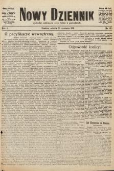 Nowy Dziennik. 1919, nr123