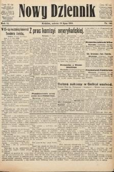Nowy Dziennik. 1919, nr143