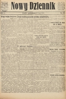 Nowy Dziennik. 1919, nr152