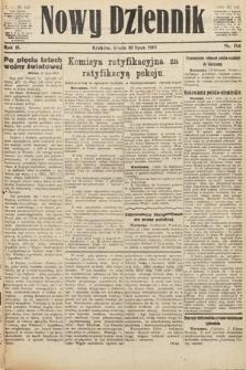 Nowy Dziennik. 1919, nr154