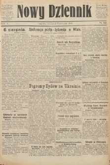Nowy Dziennik. 1919, nr162