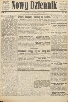 Nowy Dziennik. 1919, nr167