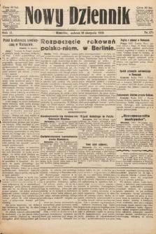 Nowy Dziennik. 1919, nr171