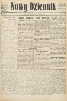 Nowy Dziennik. 1919, nr176