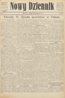 Nowy Dziennik. 1919, nr177