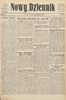 Nowy Dziennik. 1919, nr178