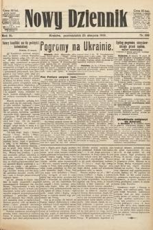 Nowy Dziennik. 1919, nr180