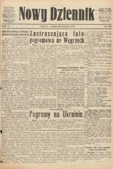 Nowy Dziennik. 1919, nr185