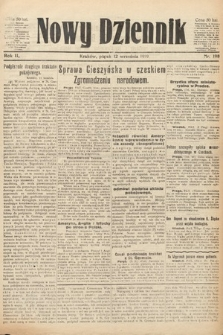 Nowy Dziennik. 1919, nr198
