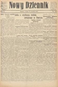 Nowy Dziennik. 1919, nr203