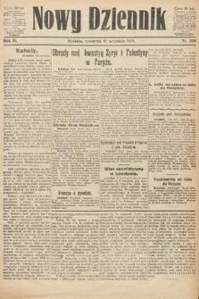 Nowy Dziennik. 1919, nr204