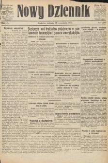 Nowy Dziennik. 1919, nr206