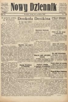 Nowy Dziennik. 1919, nr210