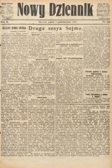 Nowy Dziennik. 1919, nr216