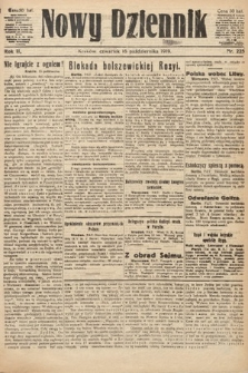 Nowy Dziennik. 1919, nr225