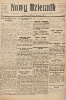 Nowy Dziennik. 1919, nr253