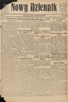 Nowy Dziennik. 1919, nr262