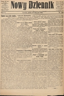 Nowy Dziennik. 1919, nr265
