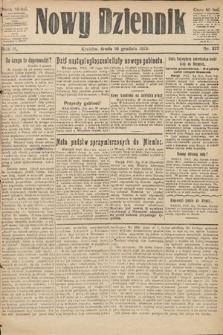 Nowy Dziennik. 1919, nr277