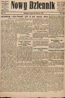 Nowy Dziennik. 1919, nr279