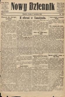 Nowy Dziennik. 1919, nr284