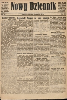 Nowy Dziennik. 1919, nr285