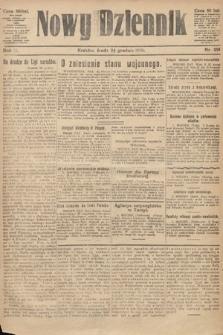 Nowy Dziennik. 1919, nr291