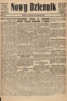 Nowy Dziennik. 1919, nr292