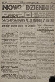 Nowy Dziennik. 1924, nr1