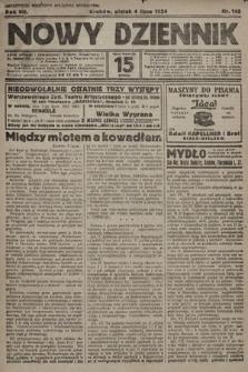 Nowy Dziennik. 1924, nr148