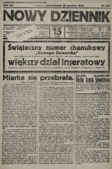 Nowy Dziennik. 1924, nr287