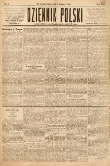 Dziennik Polski. 1889, nr9