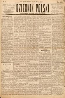Dziennik Polski. 1889, nr10