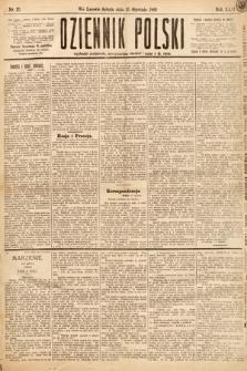 Dziennik Polski. 1889, nr12