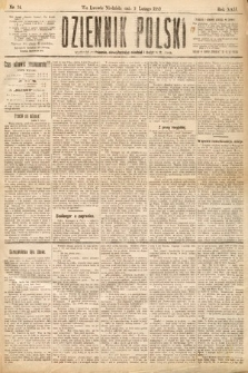 Dziennik Polski. 1889, nr34