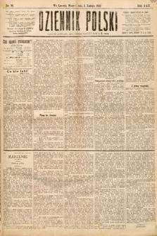 Dziennik Polski. 1889, nr36