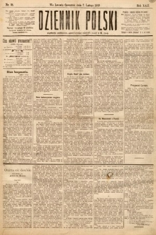 Dziennik Polski. 1889, nr38