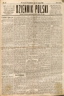 Dziennik Polski. 1889, nr49