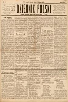 Dziennik Polski. 1889, nr54